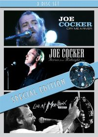 Cover Joe Cocker - Cry Me A River / Across From Midnight Tour / Live At Montreux 1987 [DVD]